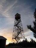 Martina climbs up Hillsboro fire tower