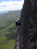 Scotland. Rock Climbing in Glencoe