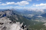 Bow valley from Middle Sister