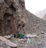 2008 Atlas mountains azib imi n ouassif camp