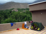 2008 Atlas mountains Imlil terrace camp