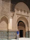 B in the Medersa Ali ben Yussuf II