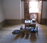 Medersa study room