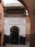 Mosque door in the Medina