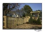 Rear Corner Security Fence/Gate