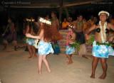 First ever redhead Polynesian dancer, Aitutaki