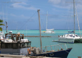 At anchor after a pretty hairy lagoon entrance, Aitutaki