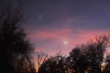 Jupiter & Venus in Late Twilight