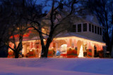 Light Display after Snowstorm (Impression)