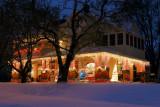 Light Display after Snowstorm