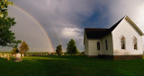 Rainbow at Mt. Zion Church