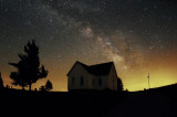 Summer Milky Way over Mt. Zion Church