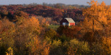 Worth County Barn in Fall