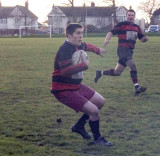 Billy Whizz steadying himself before another weave through the opposition