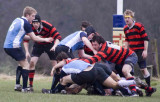 3rd XV entertain on the main pitch