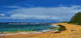 mahalaupu beach on kauai