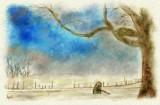 a Winter Scene   by fmr - February 2011
