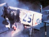 Charlie Binkley's crash while leading the Southern 300 1972