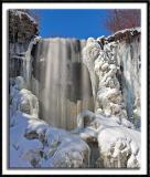 Wintry Minnehaha Falls