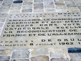 Site of the reconciliation of De Gaulle and Adenauer (1962)
