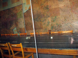 The actual table where the surrender was signed