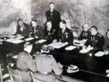 Allied and German  military officers