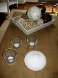 Decorations on the coffee table