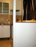 The bar/room divider