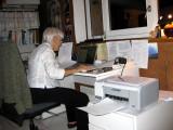 Simone at home at  Clérey