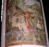 Frescos were uncovered on
