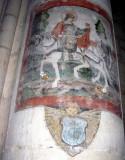 several pillars