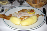 Sole with steamed potatoes