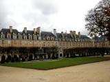 Place des Vosges, the oldest square in Paris