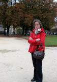 Estelle at the Place des Vosges