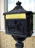 Interesting mailbox at the River Garden Inn