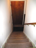 Steps to the basement
