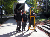 The movers, 2 Men and a Van with 1 assistant