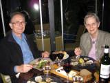 David and Mary at Restaurant Marty