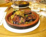 Lamb tagine with eggplant