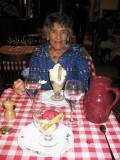 Sorbet dessert at Restaurant Perraudin