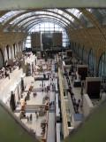 Musée d'Orsay seen through a keyhole