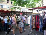 Place Monge on a market day selling clothes