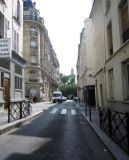 Can see the Grand Mosque from rue Monge