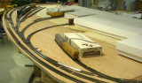 Modified warehouse track arrangement