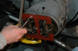 Aligning the rocker arm assemblies