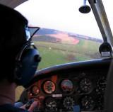 landing on grass runway in UK