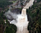 powerful Snoqualmie Falls