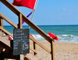 Rip tide warning