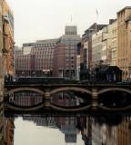 Adolphs bridge in Hamburg Canal