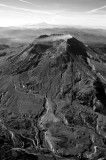 Mt St Helens and surrounding area